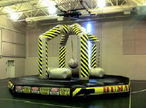 Human Demolition Zone Similar to a 4 person joust with huge inflatable wrecking ball.