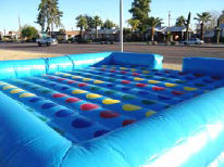 20x20 Inflatable Twister with Spinner Board