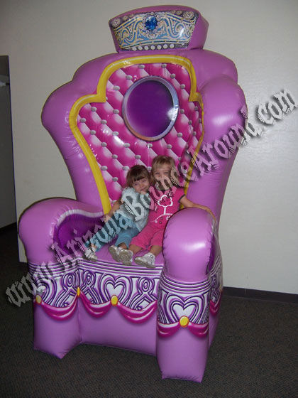 This Giant Princess Throne Chair Phoenix, Scottsdale AZ