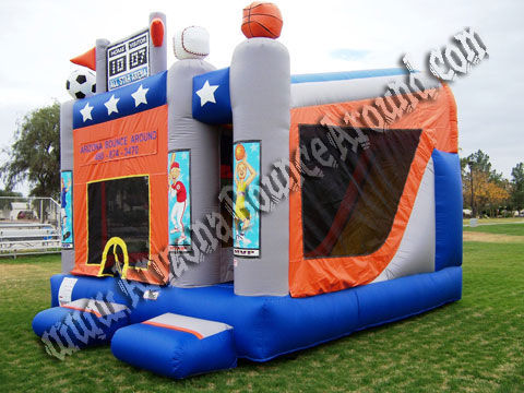Sports Bounce House rental in Phoenix, Scottsdale, AZ