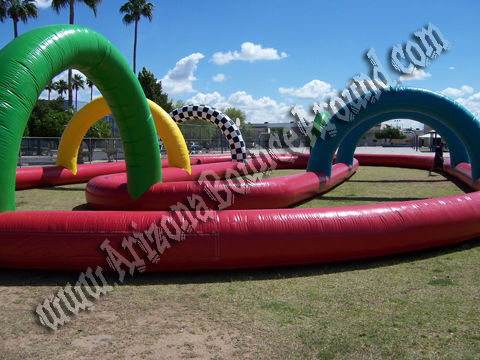 Inflatable Race Track rental in Chandler Arizona