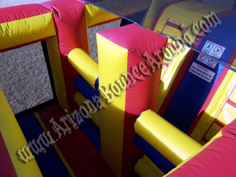 inflatable obstacle course rental in scottsdale, az