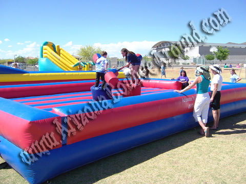 Inflatable Joust rentals in Phoenix AZ - Gladiator Joust rental