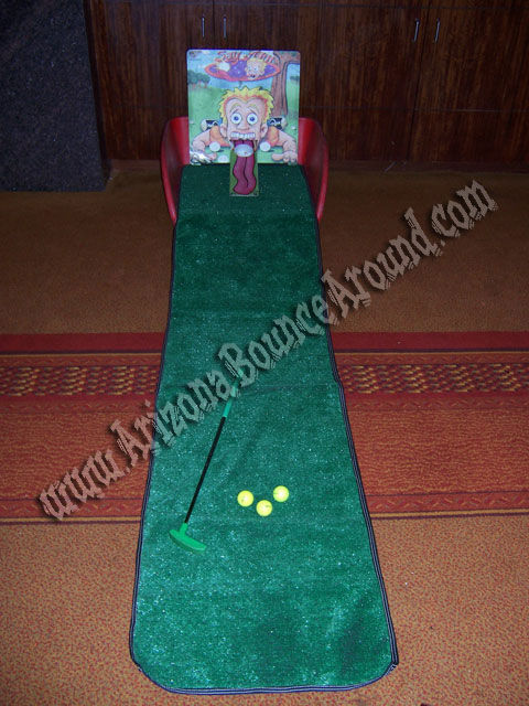 Mini Golf Carnival Game Rental Phoenix