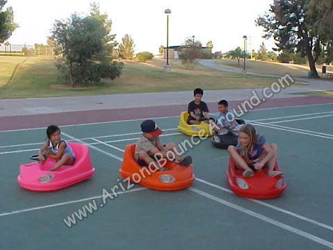 Self-Propelled Bumper Cars Rental Phoenix