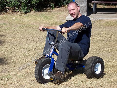 Giant Adult Tricycle rental in phoenix arizona, corporate team building ...