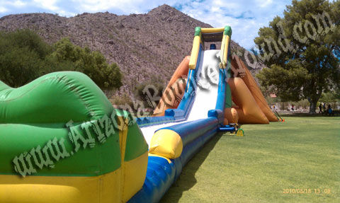 giant inflatable water slide rental california nevada new mexico - Blow Up Water Slides
