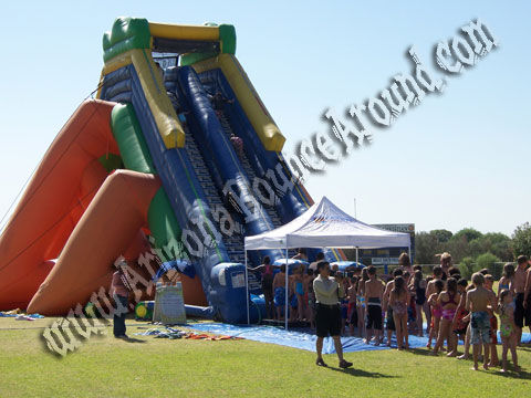 Hippo Water slide rental in arizona, Hippo Water slide rental in California, rent a Hippo Water Slide