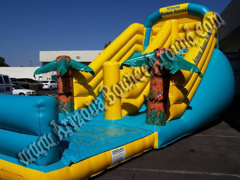 large inflatable waterslide rental az