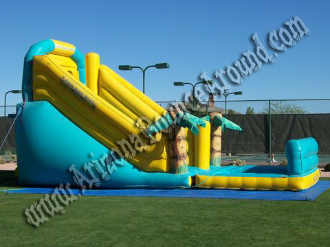 large inflatable waterslide rental Scottsdale