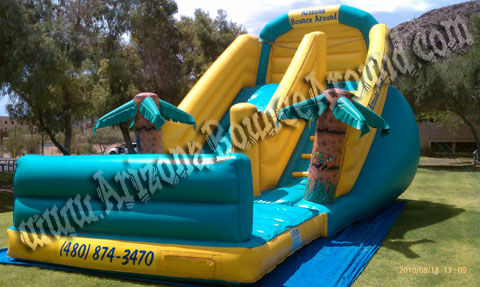 large inflatable waterslide rental Tempe