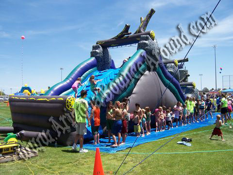 Huge inflatable water slide rental in Arizona