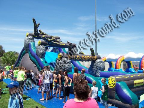 Huge Inflatable water slides rental in Phoenix
