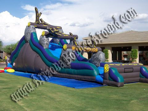 Rent a wild rapids inflatable water slide in Arizona