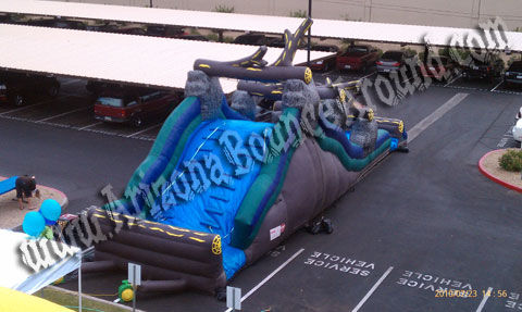 Big inflatable water slide rental for kids birthday parties in Phoenix az