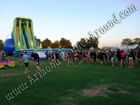 Big water slides for adult parties
