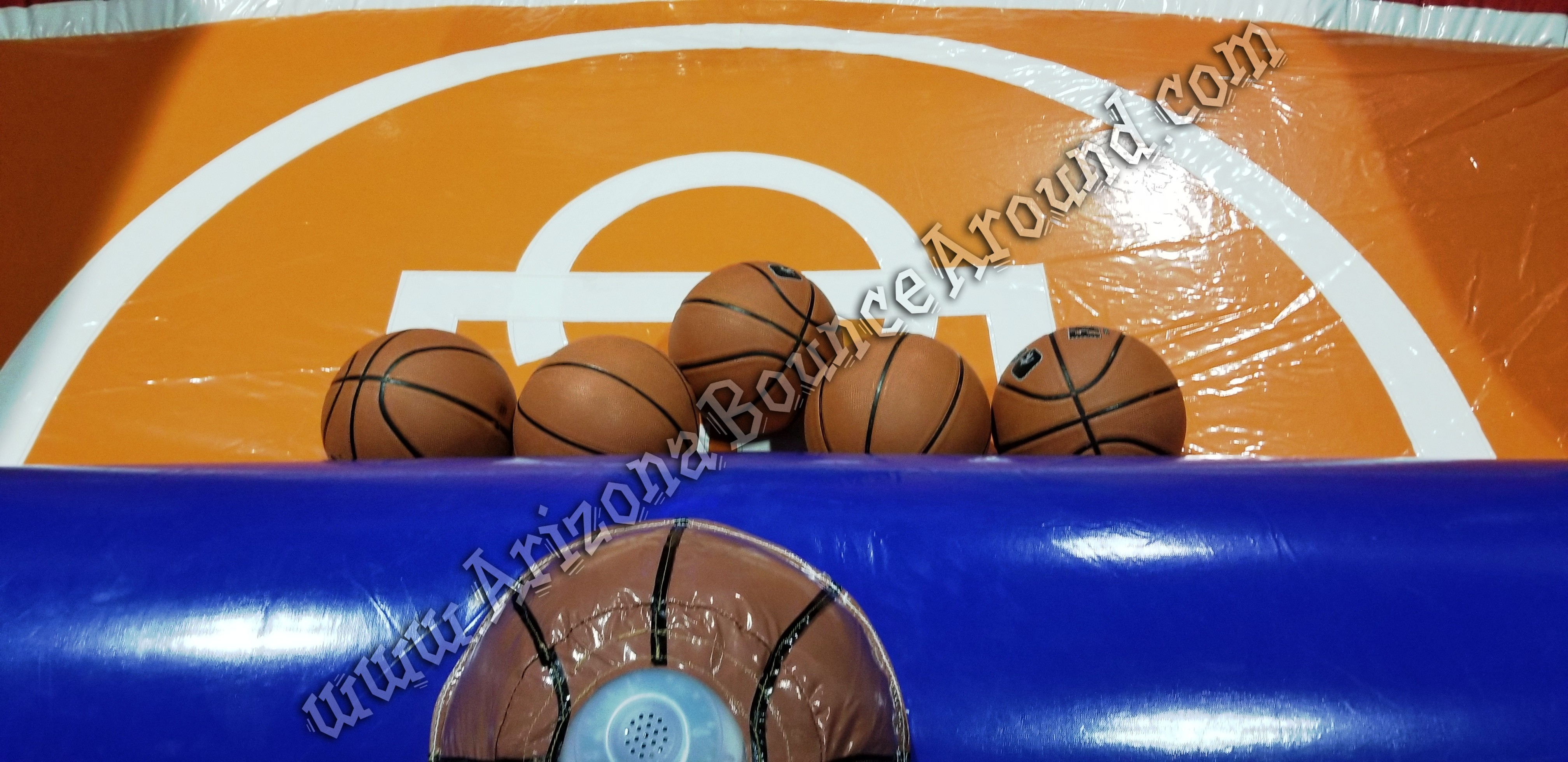 Inflatable basketball games for rent in Phoenix Arizona