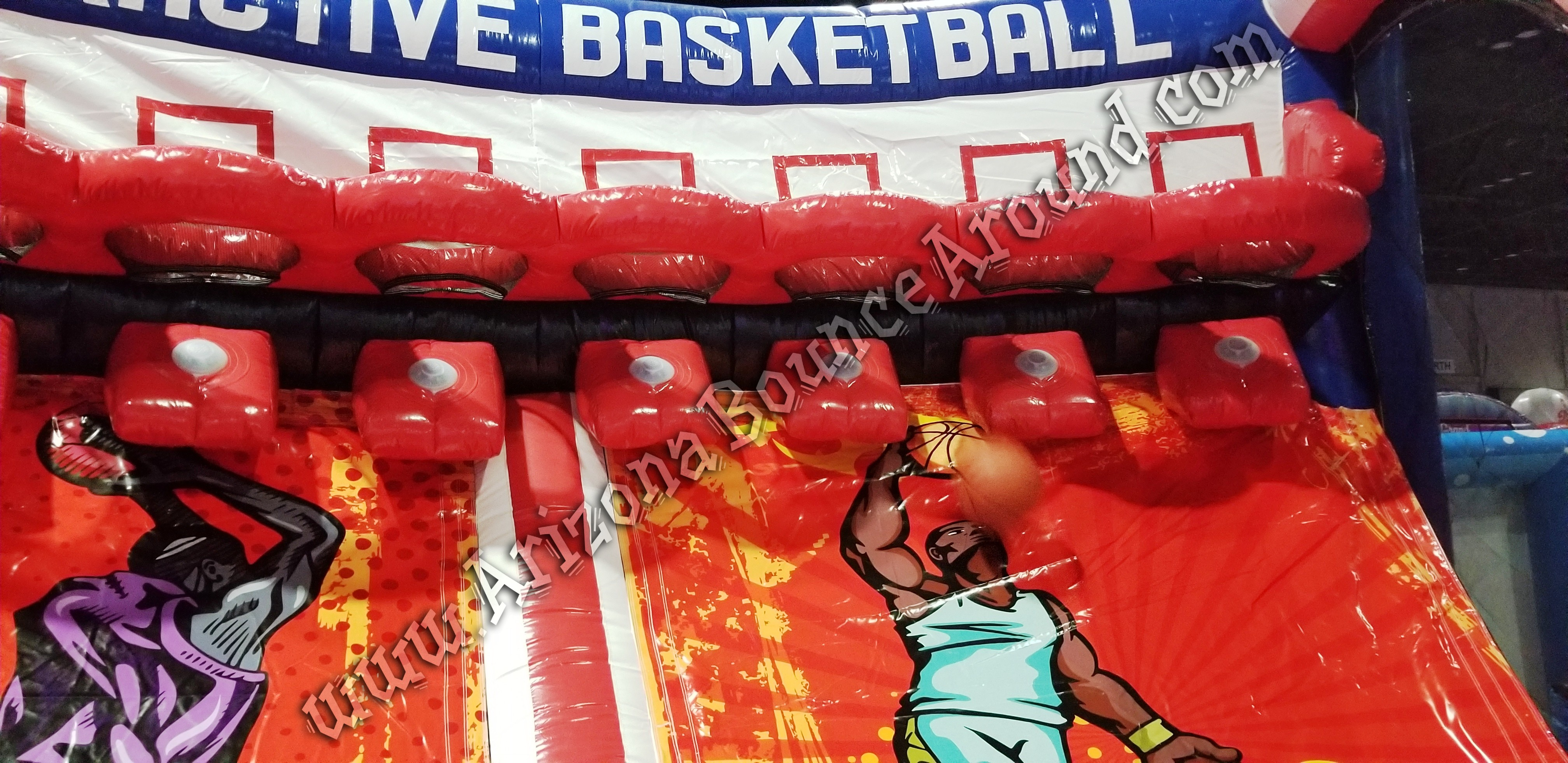 Inflatable Basketball game rentals Scottsdale Arizona