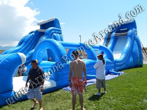 24 foot water slide rentals in Tempe AZ