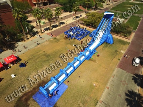 42 foot tall water slide rental