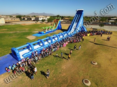 ABA 42' water slide rental
