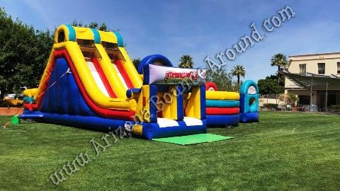 Adrenaline Rush Extreme Inflatable Obstacle Course Rentals in Phoenix Arizona