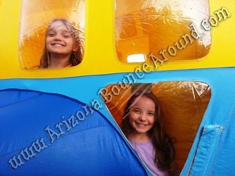 Airplate themed bounce house rentals Phoenix