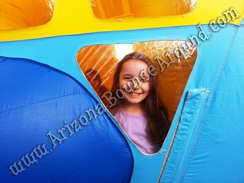 Airplate themed bounce house rentals Scottsdale