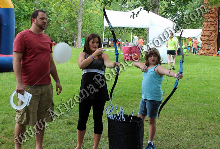 Archery game ideas for kids Phoenix Arizona