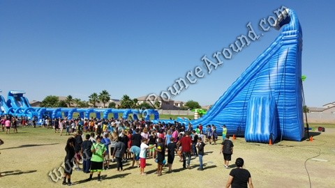 Arizona Bounce Around water slides for rent