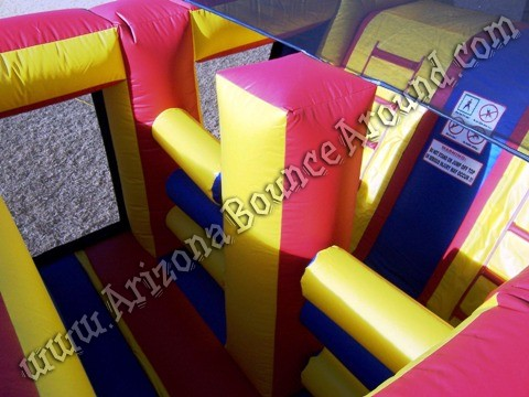 Arizona Christmas themed obstacle course rentals