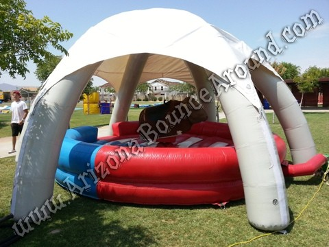 Arizona Mechanical Bull with tent