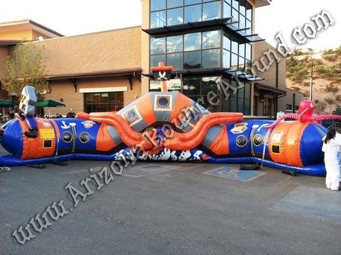 Arizona Pirate themed inflatables for rent