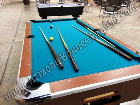 Arizona Pool table rentals