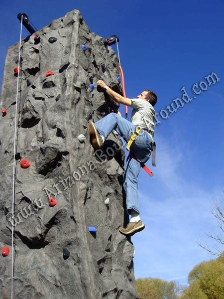 Arizona Rock wall rentals