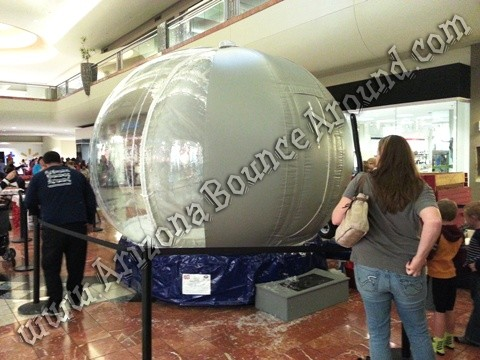 Arizona Snow Globe Photo Booth Rentals