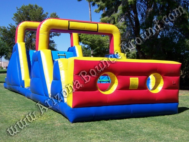 Arizona inflatable obstacle course for rent