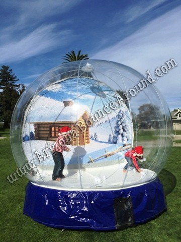 Arizona snow globe rentals that blow snow