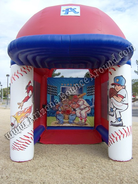 Baseball radar speed pitch booth rental Phoenix Arizona