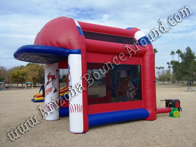 Baseball radar speed pitch game rental Phoenix Arizona