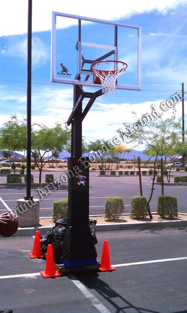 Basketball Hoop rental Phoenix Arizona