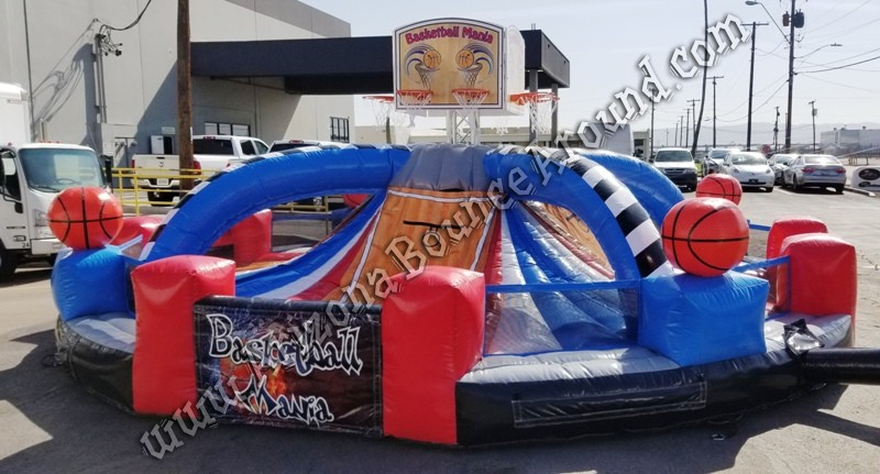 Basketball Mania Game Rental Phoenix Arizona