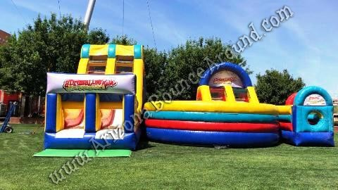 Big Obstacle Course Rentals In Arizona - Adrenaline Rush Extreme