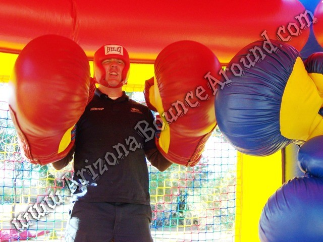 Big inflatable boxing gloves rentals Phoenix Arizona