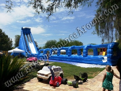 Big inflatable water slide rentals AZ