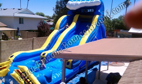 Big water slide rental Phoenix