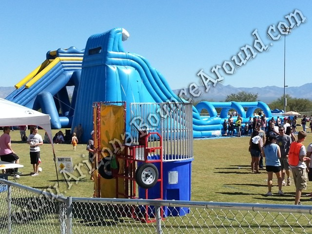 Big water slide rentals for events Arizona
