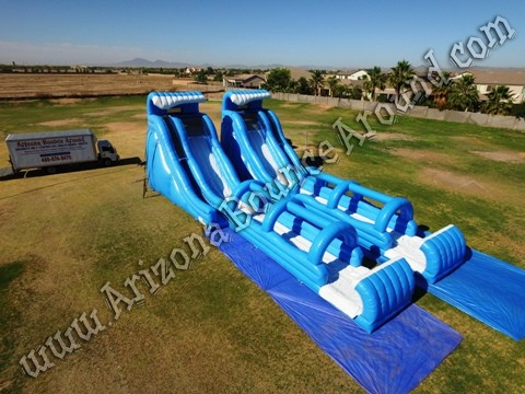 Big water slides for events Phoenix Arizona