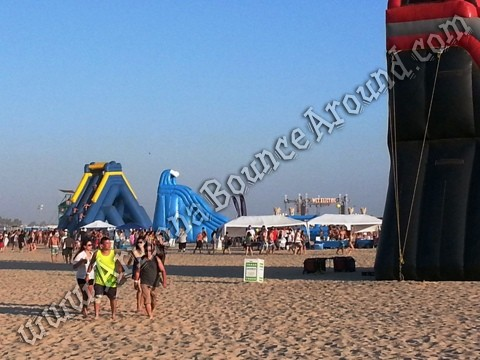 Big water slides for festivals and events