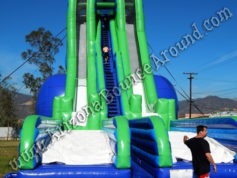 Biggest inflatable water slide for rent in New Mexico